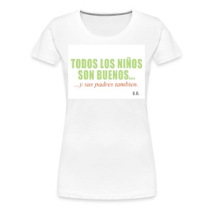 alle_kinder_sind_gut__span_text - Frauen Premium T-Shirt