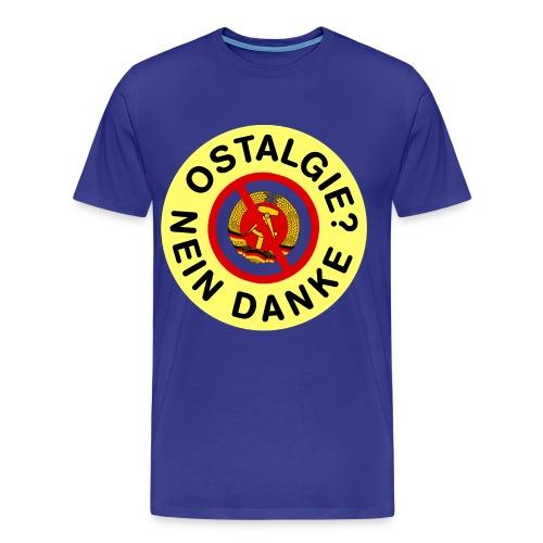 Ostalgie? Nein Danke - Standard - Männer Premium T-Shirt