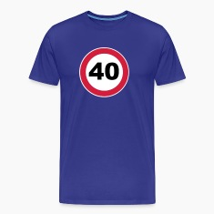 40Th birthday 40 round birthday 3 c. T-Shirts