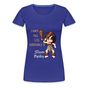 Mini-Kriss - J'aime pas les gourdins - femme - T-shirt Premium Femme