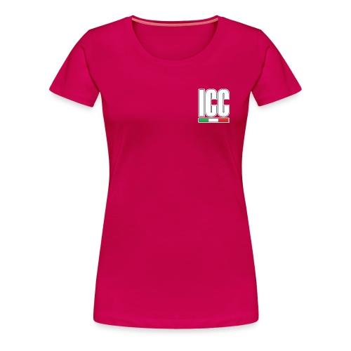T-shirt Ligne ICC13 BF - T-shirt Premium Femme