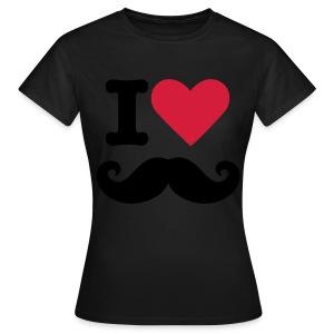 ''I love Snor'' Meiden T-shirt - Vrouwen T-shirt