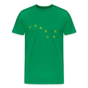 Starry Plough Yellow - Men's Premium T-Shirt