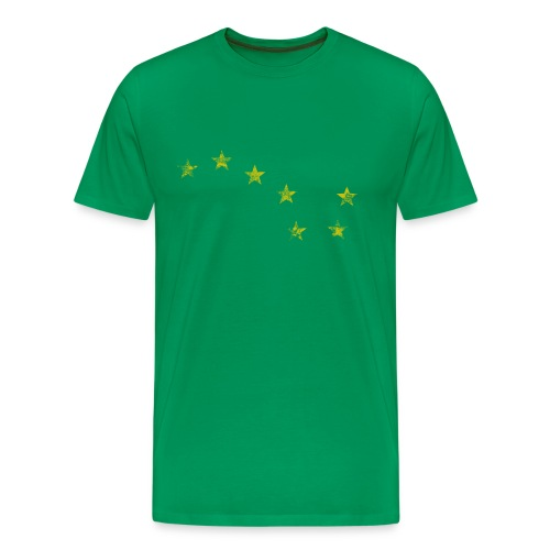 Starry Plough Yellow - Men's Premium T-Shirt