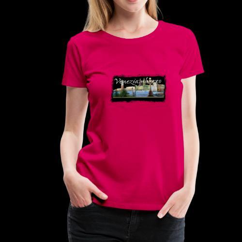 Frauen T-Shirt: Collage Veneziamburgo - Frauen Premium T-Shirt