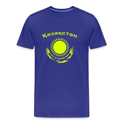 T-Shirt Männer (Kasachstan) - Männer Premium T-Shirt