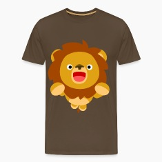 Hi! Cute Playful Cartoon Lion Cheerful Madness!! T-Shirts