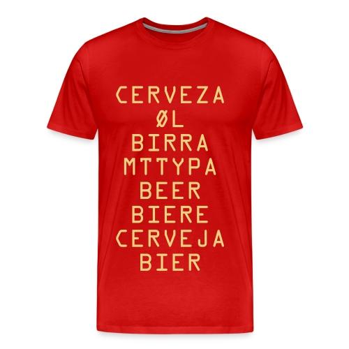 Cerveza - Men's Premium T-Shirt