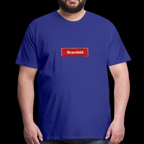 Bramfeld-Shirt mit Ortsschild - Männer Premium T-Shirt