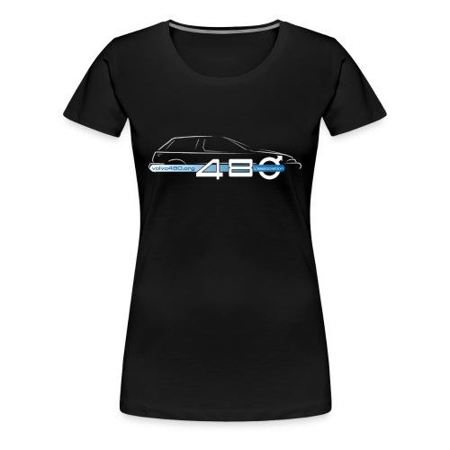 T-shirt classique femme - Logo association - T-shirt Premium Femme