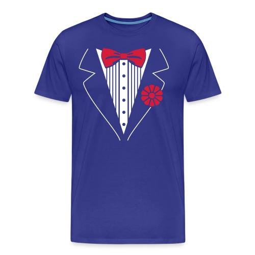 Bow Tie T - Men's Premium T-Shirt