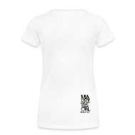 T-Shirts ~ Women's Premium T-Shirt ~ LTD Edition Slim Fit Tourwear - Chicago '12