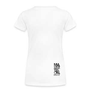LTD Edition Slim Fit Tourwear - Chicago '12 - Women's Premium T-Shirt