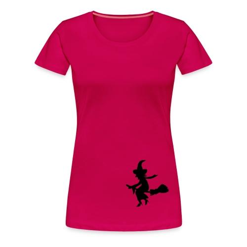 Damen T-Shirt Hexe - Frauen Premium T-Shirt