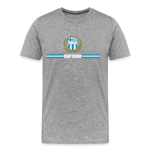 T-shirt Premium Homme - Ballon,Foot,Marseille,OM,Provence,Supporter,Ultra