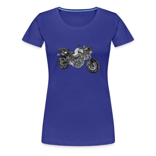 BMW F800R Folie - Frauen Premium T-Shirt