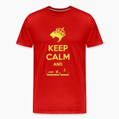 Keep Calm and cmd + z T-Shirts