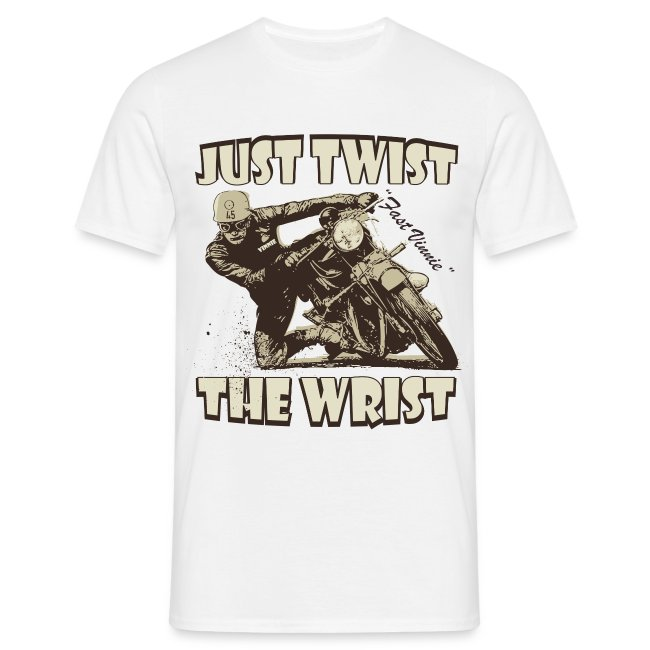 Just Twist The Wrist biker t-shirt