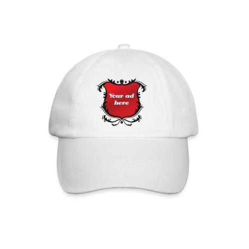 Ad cap,adverteren op je petje - Baseballcap
