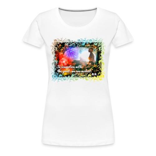 IN CONNECTION - Frauen Premium T-Shirt