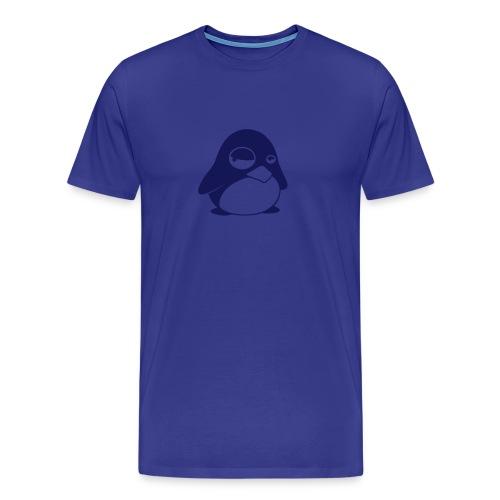 Tux Blå - Premium-T-shirt herr