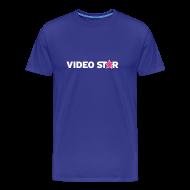 T-Shirts ~ Men's Premium T-Shirt ~ Video Star Logo Men's Adult Tee