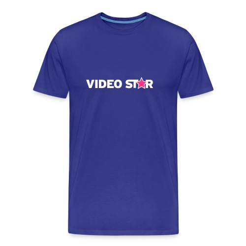 Video Star Logo Men's Adult Tee - Men's Premium T-Shirt
