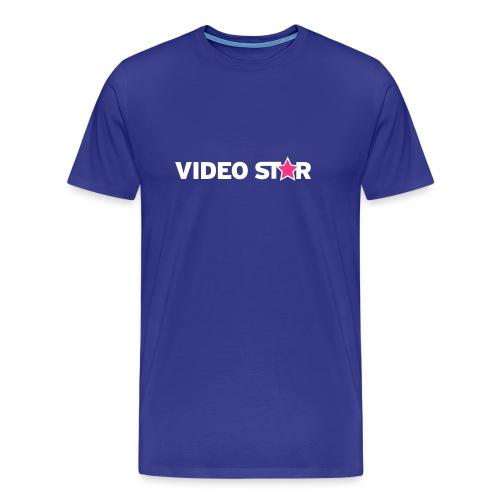 Video Star Logo Men's Adult Tee - Men's Premium T-Shirt