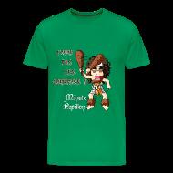 Tee shirts ~ T-shirt Premium Homme ~ Mini-Kriss - J'aime pas les gourdins