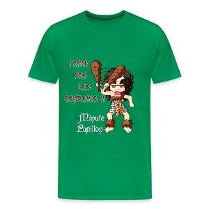 Mini-Kriss - J'aime pas les gourdins - T-shirt Premium Homme