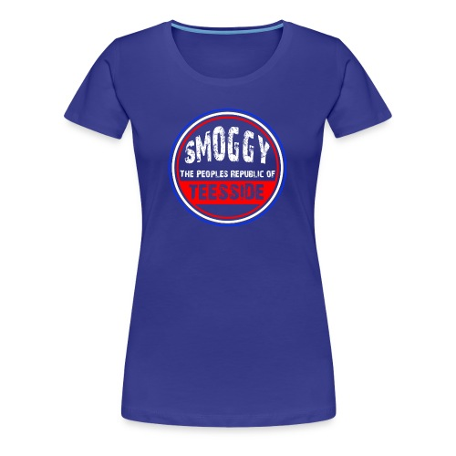 Smoggy PRT - Women - Diva Blue - Women's Premium T-Shirt