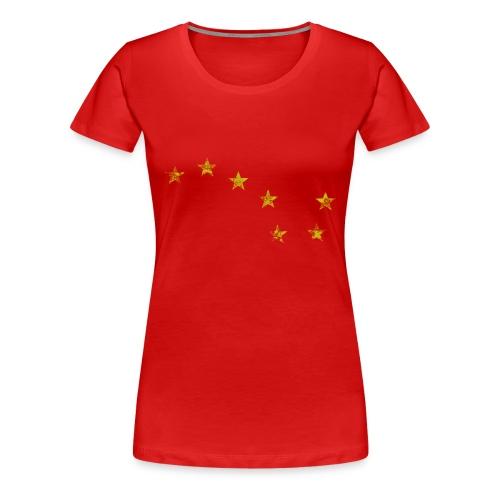 Starry Plough Yellow - Women's Premium T-Shirt