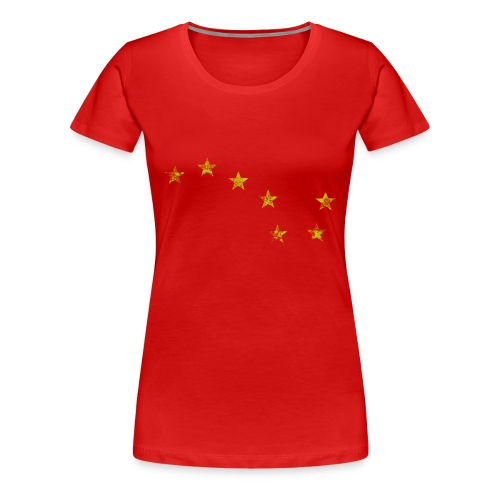 Starry Plough Yellow - Women's Premium T-Shirt