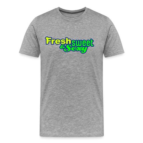 F.S.&.S Men's Classic Tee's - Men's Premium T-Shirt