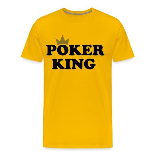 Pokerking - Männer Premium T-Shirt