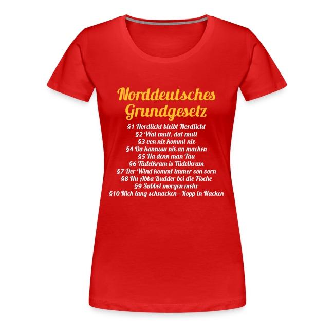 Lady Norddeutsches Grundgesetz