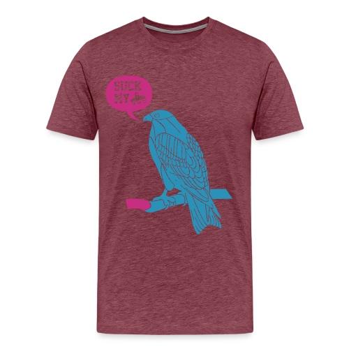 Suck my vdh bird shirt man - Mannen Premium T-shirt