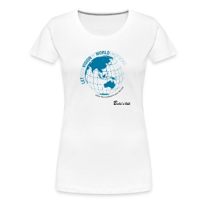 VISION - Slim Fit /w - Women's Premium T-Shirt