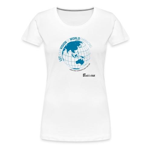 VISION - Slim Fit /w - Women's Premium T-Shirt