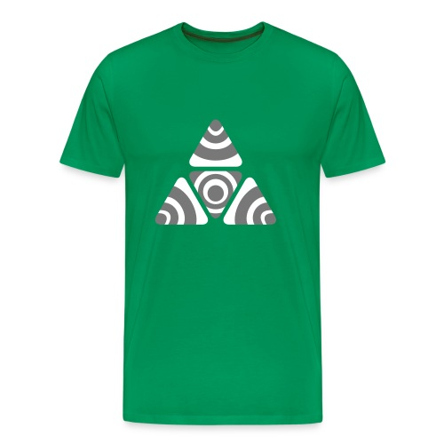 Zebra Triangle - Männer Premium T-Shirt