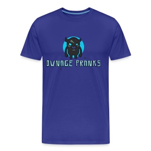 Ownage Pranks Logo Shirt  - Men's Premium T-Shirt