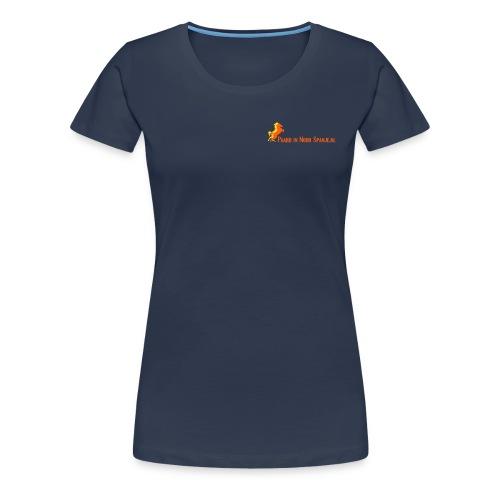 Vrouwen TShirt Navy - Vrouwen Premium T-shirt