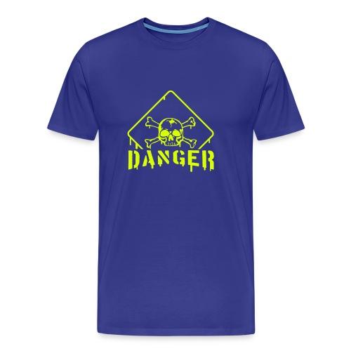 Danger - Männer Premium T-Shirt