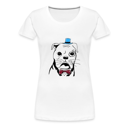 Gentledog No. 2 - Frauen Premium T-Shirt