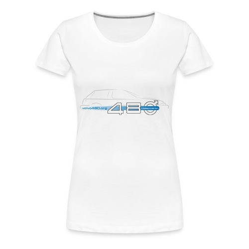 T-shirt femme grande taille - Logo association - T-shirt Premium Femme