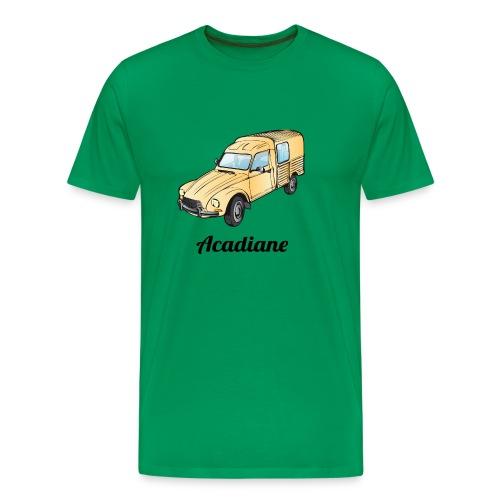 T-shirt homme Acadiane beige - T-shirt Premium Homme