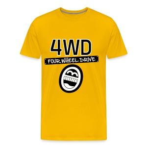 4WD Smile - Männer Premium T-Shirt