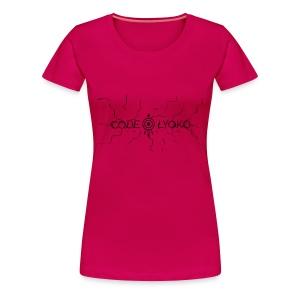 Connection - T-Shirt Femme Rose - T-shirt Premium Femme
