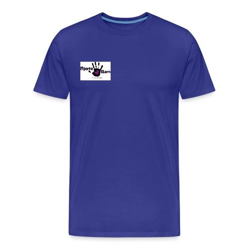 Herre t shirt logo bryst - Herre premium T-shirt