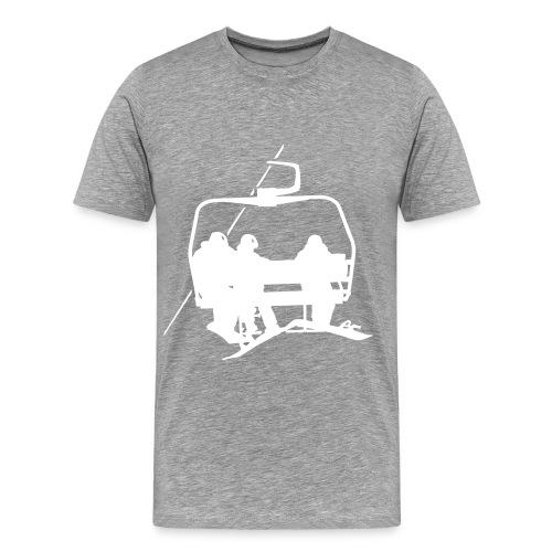 Lift - Shirt - grey - Männer Premium T-Shirt